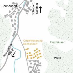 Sonnendorf Ortserweiterung